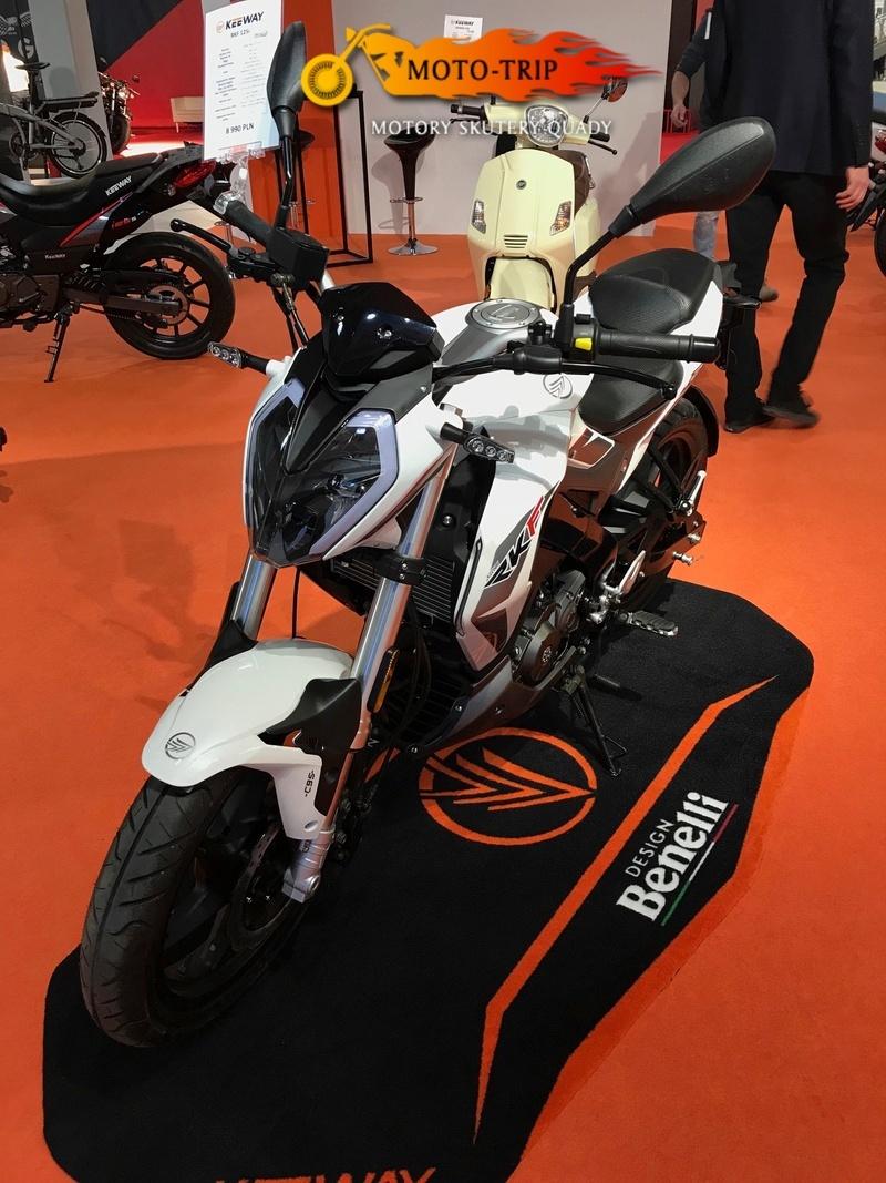 keeway rkf 125 euro 4 salon moto trip krak w. Black Bedroom Furniture Sets. Home Design Ideas